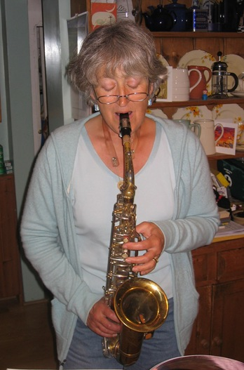 sue on sax