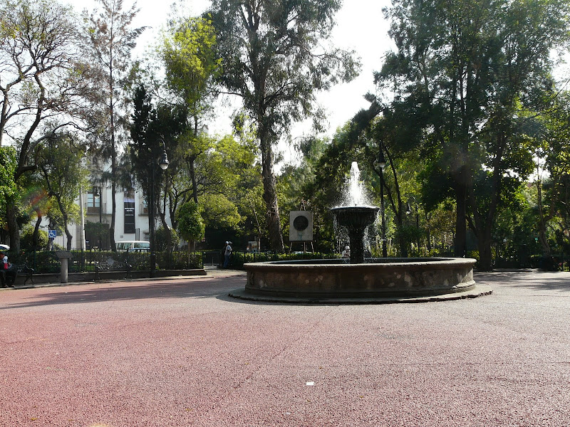 Plaza San Jacinto in San Angel