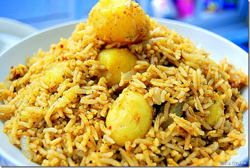 Small potato biryani