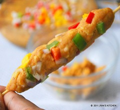 colourful kabab