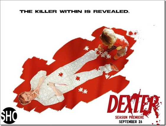 DexterSeason5SpoilerPoster The Killer Within gets revealed