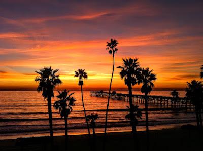 San Clemente Sunset Photos