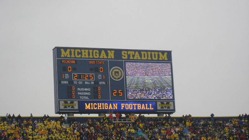 Michigan Stadium wedding Ann Arbor, MI with wedding planner TwoFoot Creative