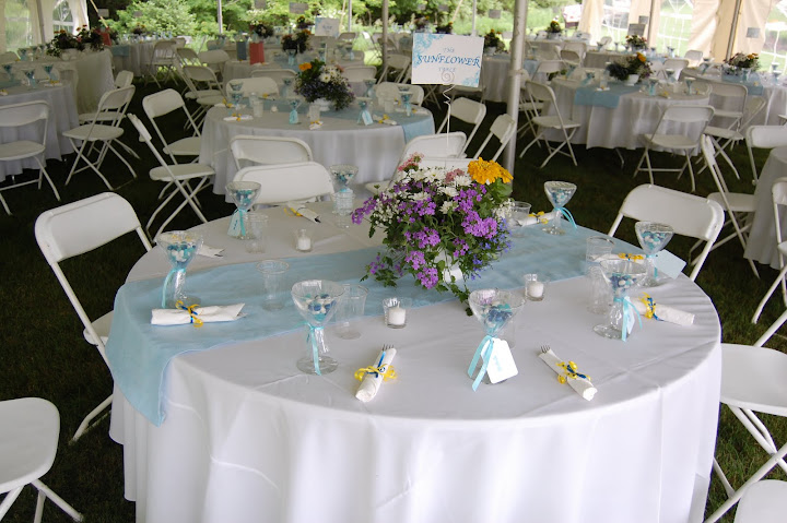 Table numbers by flower name