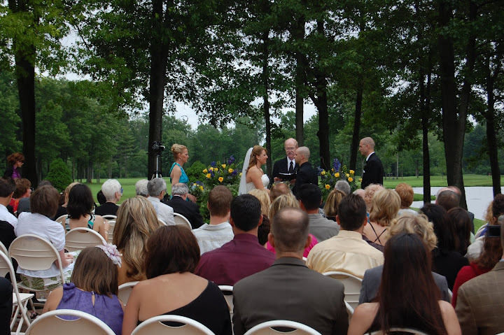 Cherry Creek wedding ceremony