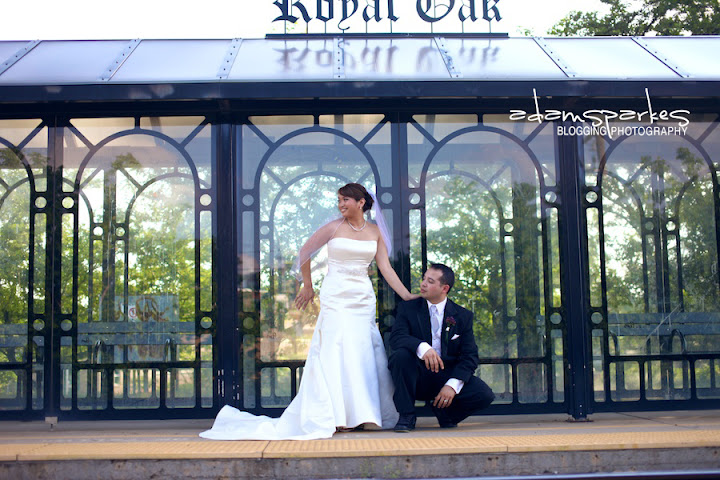 Adam Sparkes photography for a Detroit, MI wedding