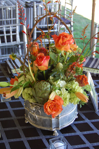 Fabulous Events centerpiece Misty Farm