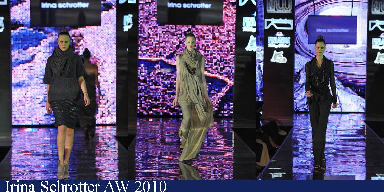 Irina Schrotter Toamna-Iarna 2010 Romanian Fashion Week Iasi
