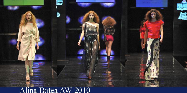 Alina Botea Toamna-Iarna 2010 Romanian Fashion Week Iasi