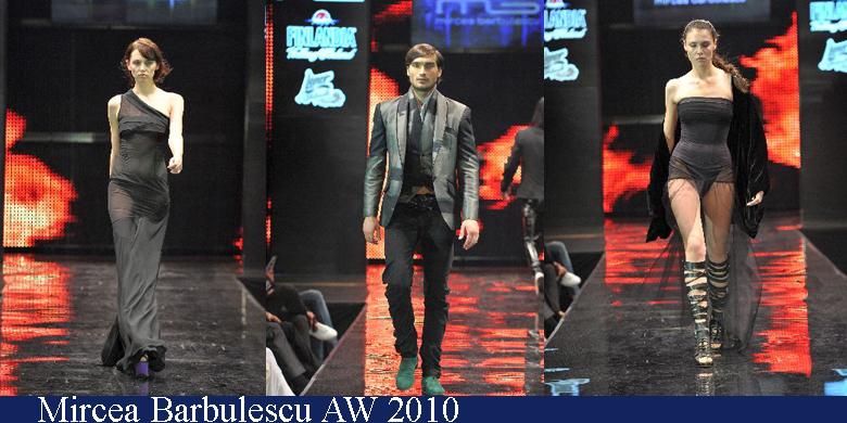 Mircea Barbulescu Toamna-Iarna 2010 Romanian Fashion Week Iasi