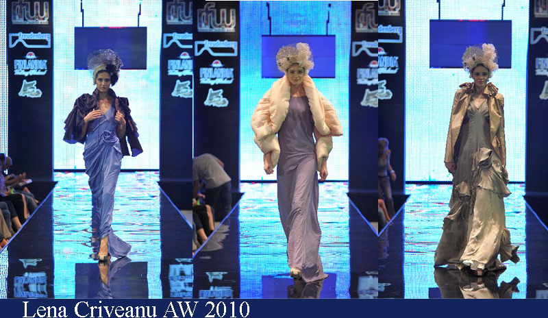 Lena Criveanu Toamna-Iarna 2010 Romanian Fashion Week Iasi