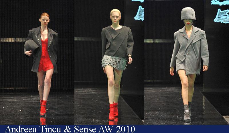 Andreea Tincu & Sense Toamna-Iarna 2010 Romanian Fashion Week Iasi