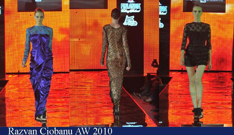 Razvan Ciobanu Toamna-Iarna 2010 Romanian Fashion Week Iasi
