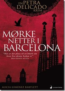 Forside Mørke netter i Barcelona.indd