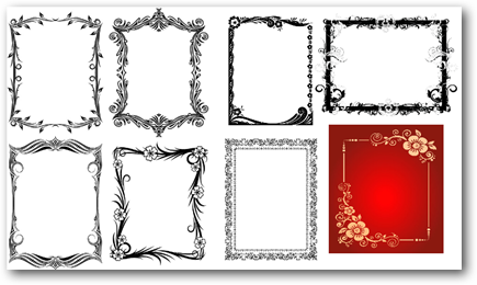 Clipart bordes y marcos gratis - Imagui