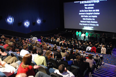 How many screens does the Galaxy Theatre in Gig Harbor, Washington, have?