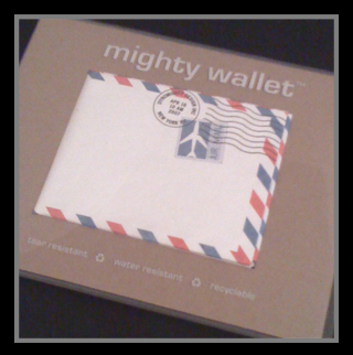 Checking Out My New Wallet