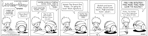 Little-Way-Webcomic-#00007: Signature