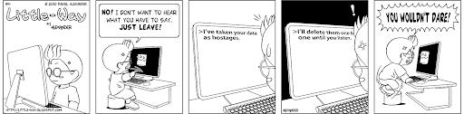 Little-Way-Webcomic-#00014: Hostage Negotiation