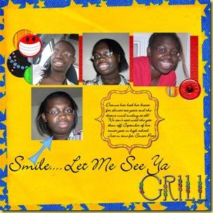 Smile Let Me See Ya Grill