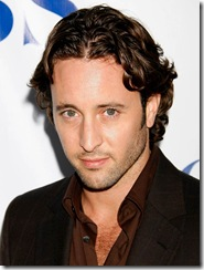 Actor Alex O'Loughlin arrives at the CBS Summer Press Tour Stars