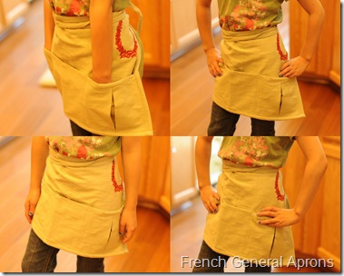 Aprons collage