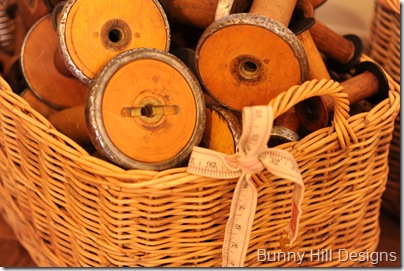 Basket of Spools