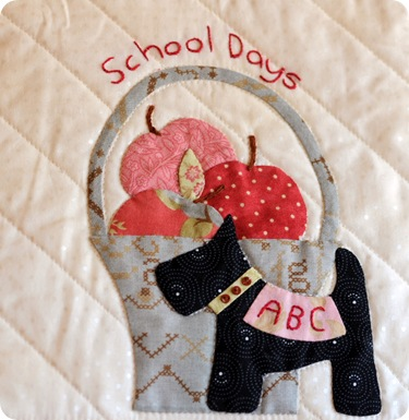 September Applique Block