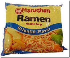 $0.25 Instant Noodle - Yum!