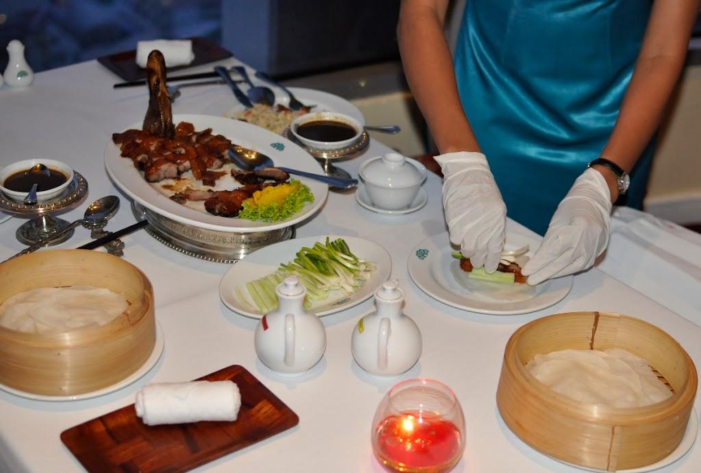 Закат  и  Китайский ресторан