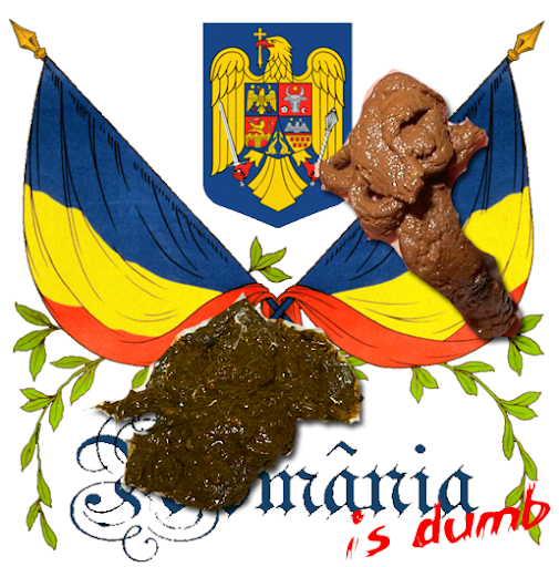 romania sucks scat feces nationalist