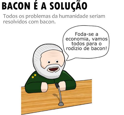 Bacon é a solução