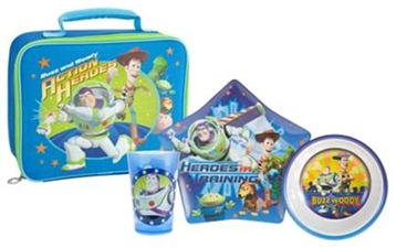 Dinner Set with Lunch Bag - Toy Story 3