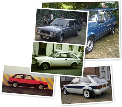 VOTA LA CHRYSLER - TALBOT SUNBEAM