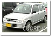 DAIHATSU CUORE 1998-2002