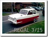 RELIANT REGAL 3-25 1964