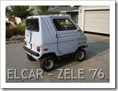 ELCAR - ZAGATO ZELE ELECTRIC CAR 1976