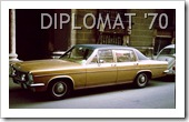 OPEL DIPLOMAT 1970