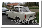 TRABANT P601 1968