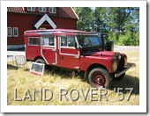 LAND ROVER STATION WAGON SERIES I 1957