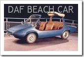 1966 DAF BEACH CAR