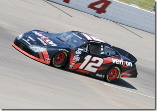 2009 NNS Iowa Allgaier car shot
