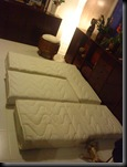 Matelas fini