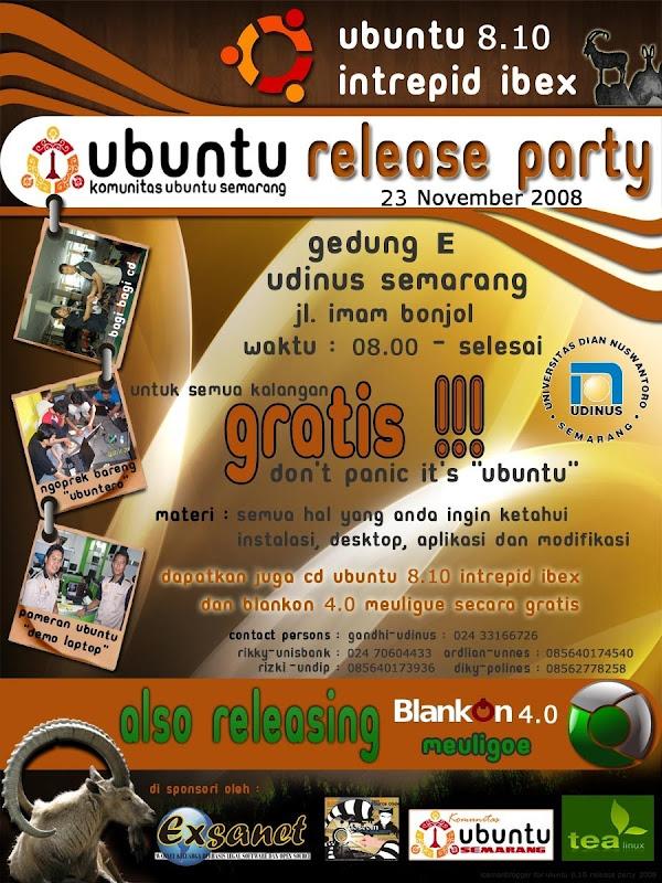 Ubuntu 8.10 Release Party