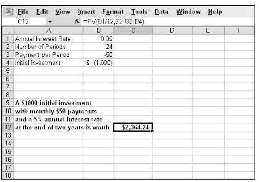 depreciation formula excel