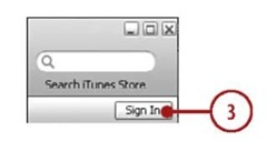 Using an iTunes Store Account