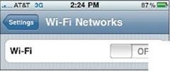 Tap Wi-Fi.