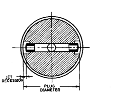 Plug for pneumatic comparator