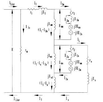 general procedures for calculating performance of shaded pole motors rh what when how com vintage shaded pole motor wiring diagram GE Split Phase Motor Diagram