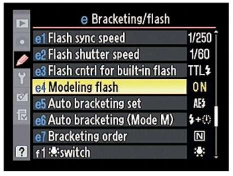 After enabling this feature, you can press the Depth of Field Preview button to fire a modeling flash.